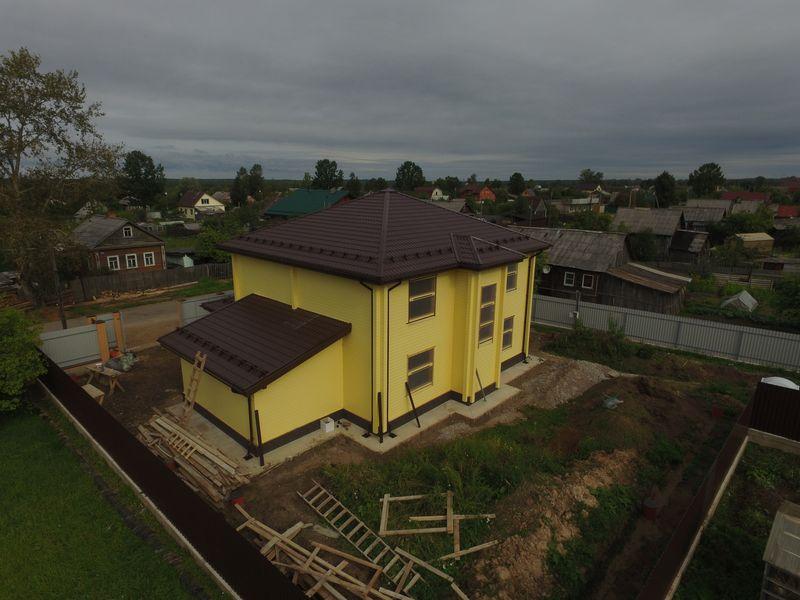 Дом из бруса 200 в Бокситогорске