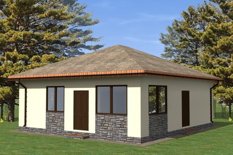 стоимость строительства одноэтажного дома из газобетона