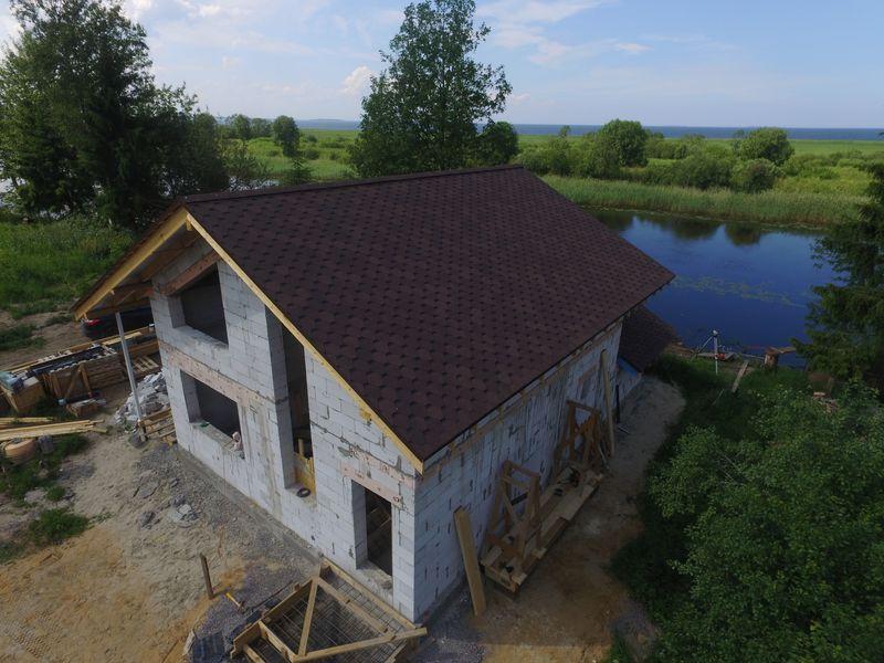 Дом из газобетона в Шальдихе
