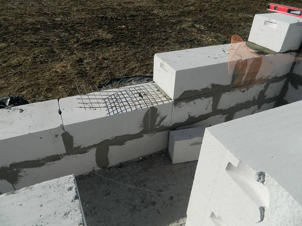 строительство дома из газобетонных блоков