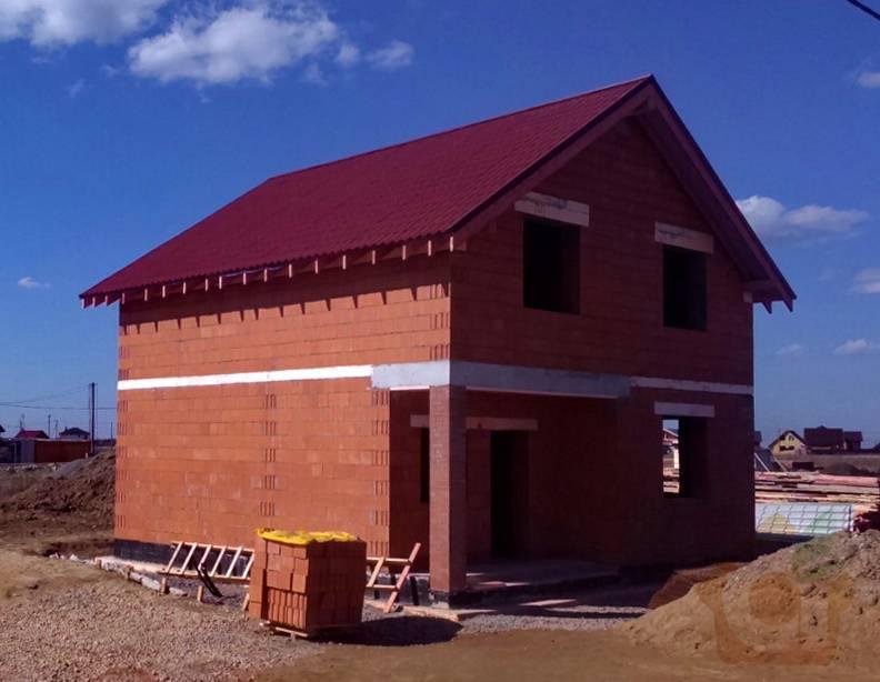 Ведется строительство дома по этому проекту