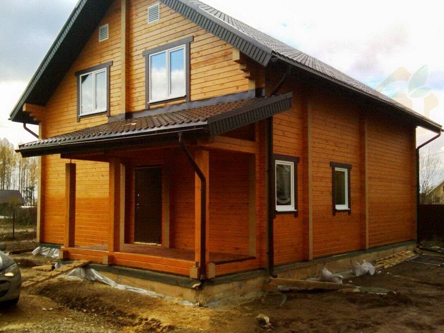 Дом из бруса 200 в п. Новый Свет