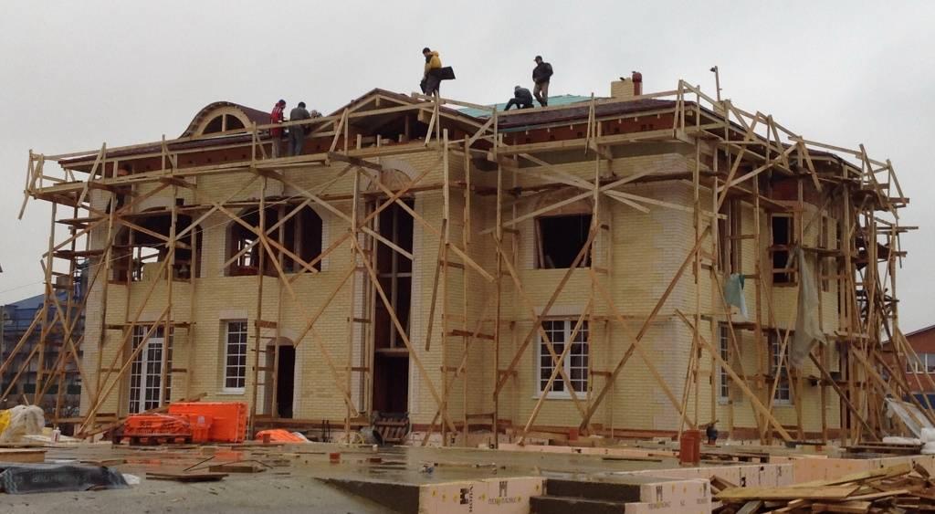 строительство кирпичных домов, построить дом из кирпича