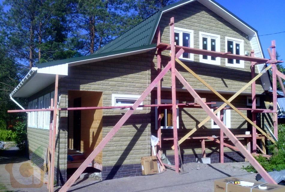 Реконструкция загородного дома (перестройка дачи в дом), Стрельцово
